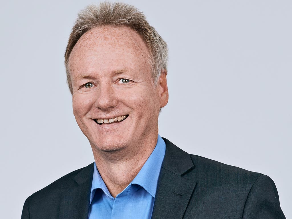 Porträtbild von Jörg von Scheidt, Chief Financial Officer der TechniData IT AG